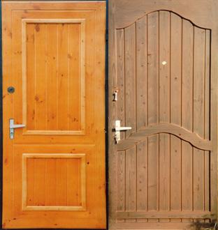 Виды отделки стальных дверей. Продолжение