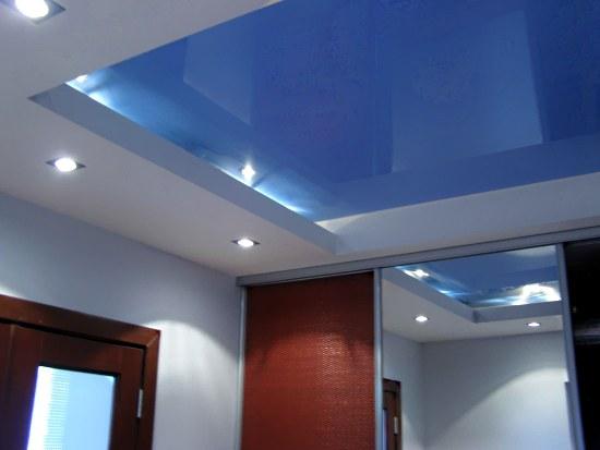 Полотно натяжного потолка: поверхность матовая или глянцевая? Продолжение