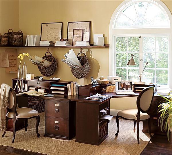 Импровизированный кабинет: свет для работы и чтения