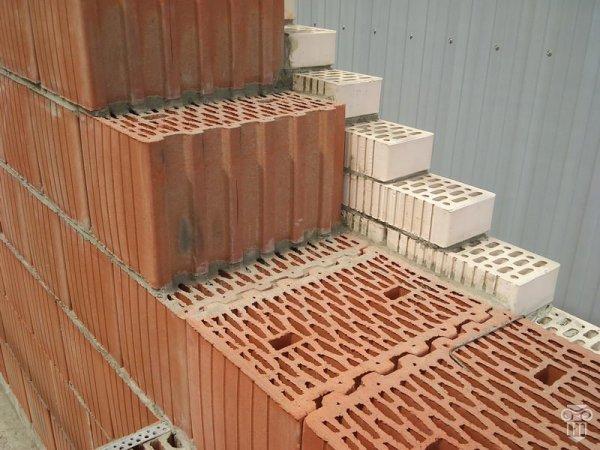 Пустотелые керамические блоки. Продолжение