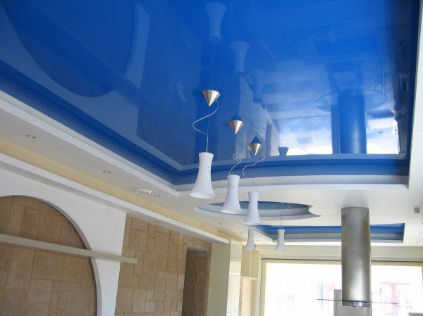 Натяжные потолочные конструкции: преимущества